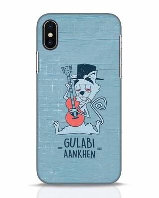 Shop Gulabi Aankhen iPhone X Mobile Cover-Front