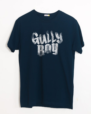 Shop Gully Boy Hip Hop Half Sleeve T-Shirt-Front