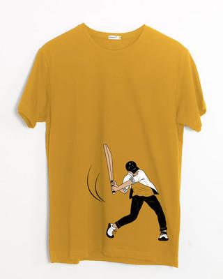 Shop Gully Cricket Half Sleeve T-Shirt-Front