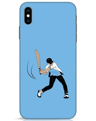 Shop Gully Cricket iPhone XS Max Mobile Cover-Front