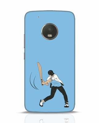 Shop Gully Cricket Moto G5 Plus Mobile Cover-Front