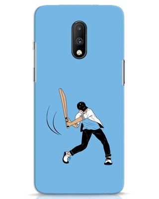 Shop Gully Cricket OnePlus 7 Mobile Cover-Front