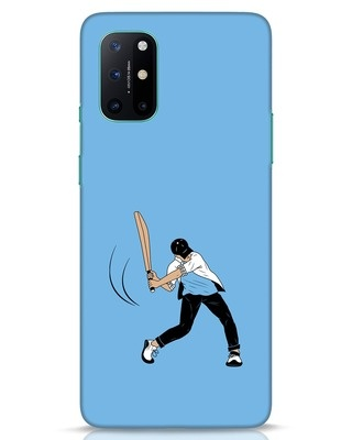Shop Gully Cricket OnePlus 8T Mobile Cover-Front
