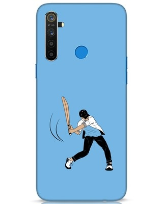 Shop Gully Cricket Realme 5 Mobile Cover-Front