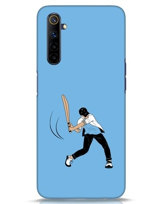 Shop Gully Cricket Realme 6i Mobile Cover-Front
