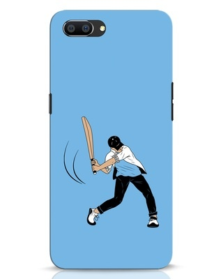 Shop Gully Cricket Realme C1 Mobile Cover-Front