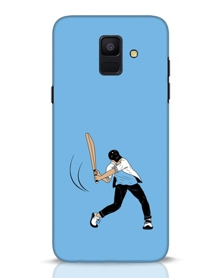 Shop Gully Cricket Samsung Galaxy A6 2018 Mobile Cover-Front