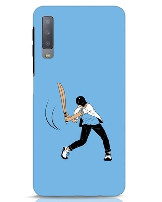 Shop Gully Cricket Samsung Galaxy A7 Mobile Cover-Front