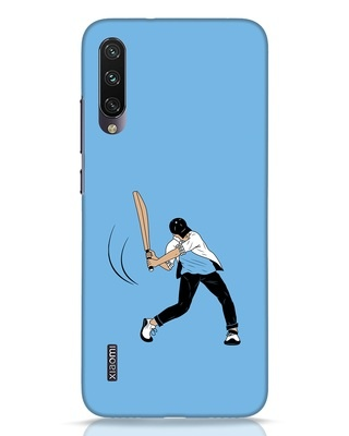 Shop Gully Cricket Xiaomi Mi A3 Mobile Cover-Front