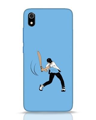 Shop Gully Cricket Xiaomi Redmi 7A Mobile Cover-Front