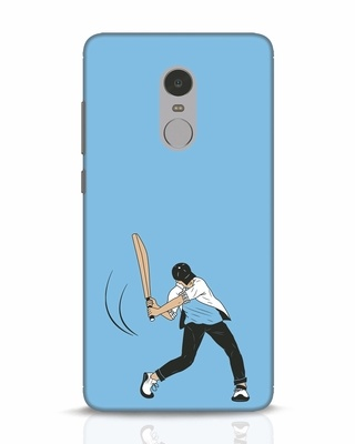 Shop Gully Cricket Xiaomi Redmi Note 4 Mobile Cover-Front