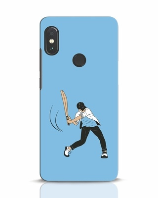 Shop Gully Cricket Xiaomi Redmi Note 5 Pro Mobile Cover-Front