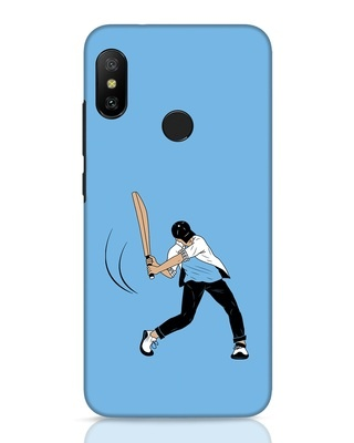 Shop Gully Cricket Xiaomi Redmi Note 6 Pro Mobile Cover-Front