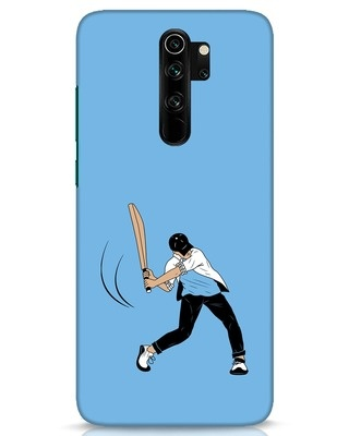 Shop Gully Cricket Xiaomi Redmi Note 8 Pro Mobile Cover-Front