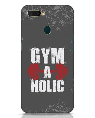 Shop Gym A Holic Oppo A7 Mobile Cover-Front