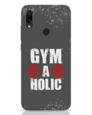 Shop Gym A Holic Xiaomi Redmi Note 7 Mobile Cover-Front