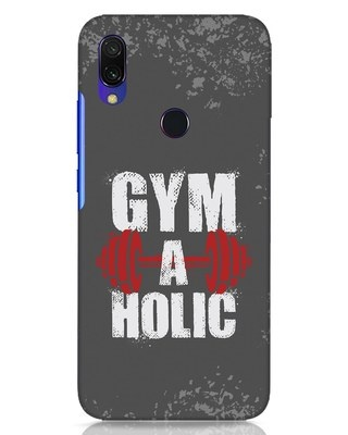 Shop Gym A Holic Xiaomi Redmi Y3 Mobile Cover-Front