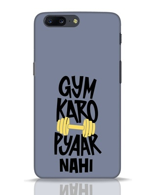 Shop Gym Karo OnePlus 5 Mobile Cover-Front