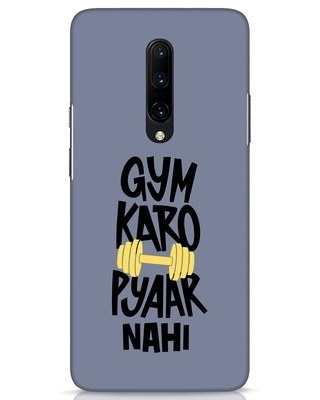 Shop Gym Karo OnePlus 7 Pro Mobile Cover-Front