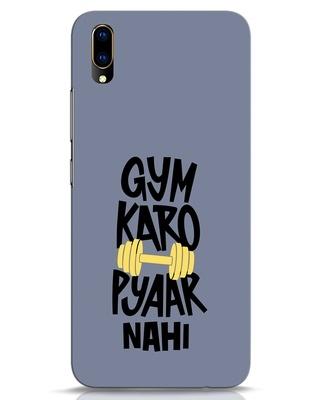 Shop Gym Karo Vivo V11 Pro Mobile Cover-Front