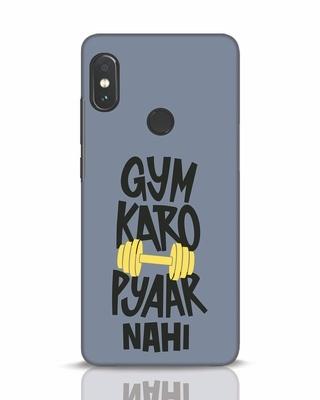 Shop Gym Karo Xiaomi Redmi Note 5 Pro Mobile Cover-Front
