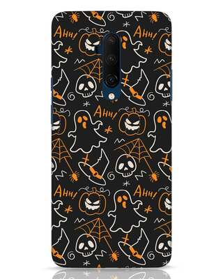 Shop Halloween Doodle OnePlus 7T Pro Mobile Cover-Front