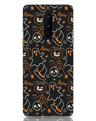 Shop Halloween Doodle OnePlus 8 Mobile Cover-Front