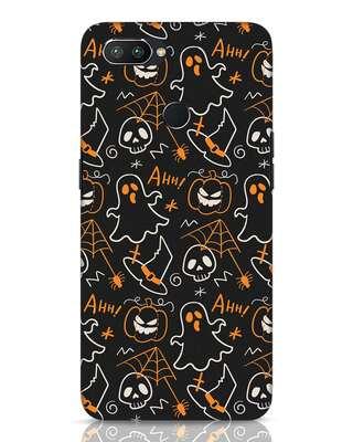 Shop Halloween Doodle Realme 2 Pro Mobile Cover-Front