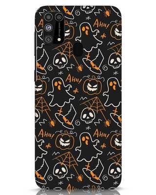 Shop Halloween Doodle Samsung Galaxy M31 Mobile Cover-Front