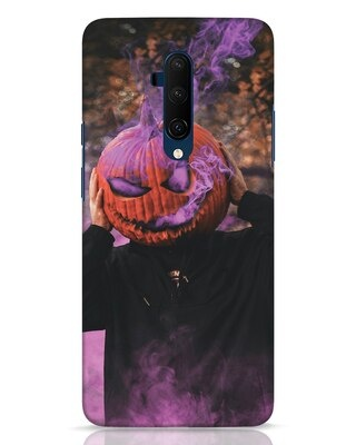 Shop Halloween Smoke OnePlus 7T Pro Mobile Cover-Front