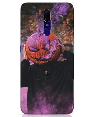 Shop Halloween Smoke Oppo F11 Mobile Cover-Front