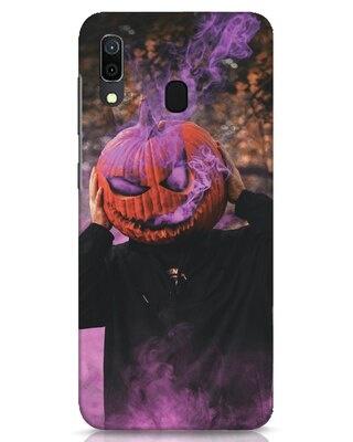 Shop Halloween Smoke Samsung Galaxy A30 Mobile Cover-Front