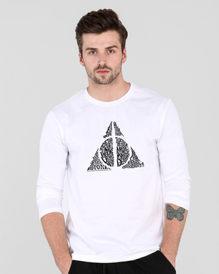 Shop Hallows Tri Full Sleeve T-Shirt (HP)-Front