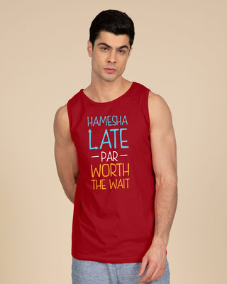 Shop Hamesha Late Vest-Front