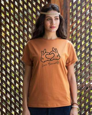 44198e4ed7d T Shirts for Women - Get 10% Cashback on Ladies T Shirts | Bewakoof