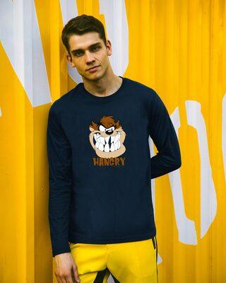 Shop Hangry Tazz Full Sleeve T-Shirt (LTL)-Front