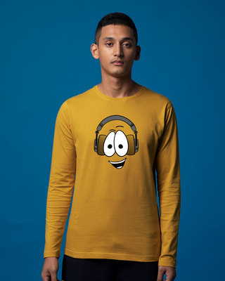 Shop Happy Beat Full Sleeve T-Shirt-Front