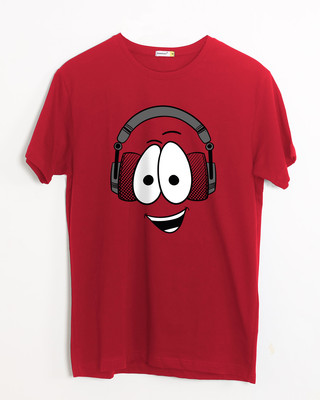Shop Happy Beat Half Sleeve T-Shirt-Front