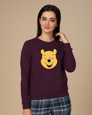 Shop Happy Pooh Sweatshirt (DL)-Front