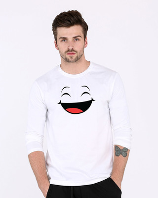 Shop Happy Shappy Full Sleeve T-Shirt-Front