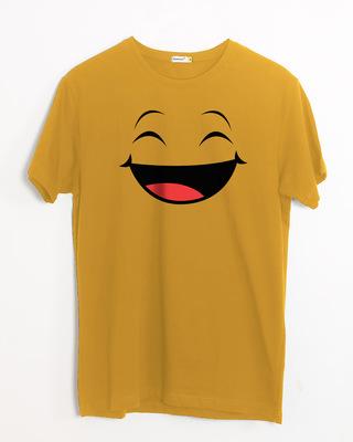 Shop Happy Shappy Half Sleeve T-Shirt-Front