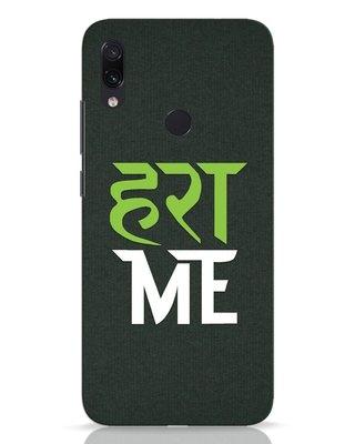 Shop Hara Me Xiaomi Redmi Note 7 Pro Mobile Cover-Front
