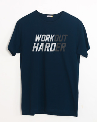 Shop Hard Work Half Sleeve T-Shirt-Front