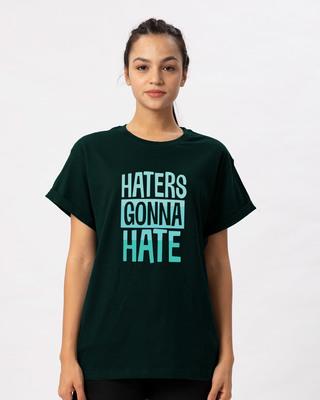Shop Haters Gonna Boyfriend T-Shirt-Front