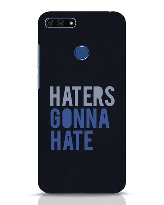 Shop Haters Gonna Hate Huawei Honor 7A Mobile Cover-Front