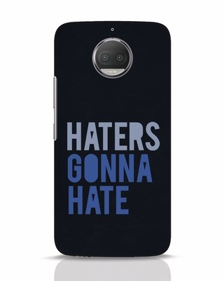 Shop Haters Gonna Hate Moto G5s Plus Mobile Cover-Front