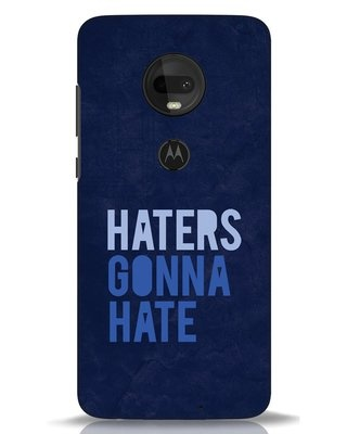 Shop Haters Gonna Hate Moto G7 Mobile Cover-Front
