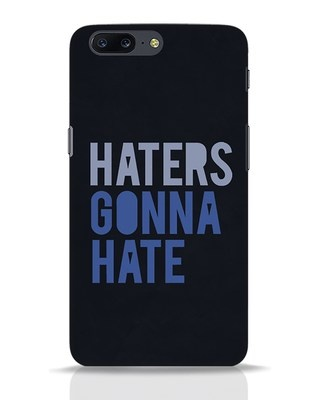 Shop Haters Gonna Hate OnePlus 5 Mobile Cover-Front