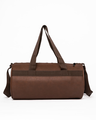 Shop Havana Brown Duffle Bag-Front