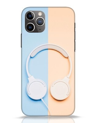 Shop Hazey Headphone iPhone 11 Pro Mobile Cover-Front